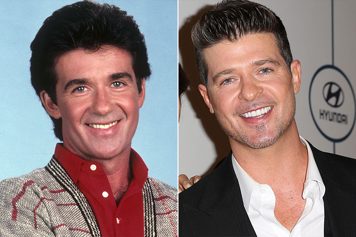 Alan Thicke - Robin Thicke (30 Years Old)