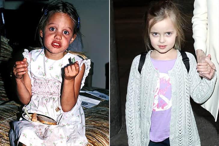 Angelina Jolie - Vivienne Marcheline Jolie-Pitt (7 Years Old)