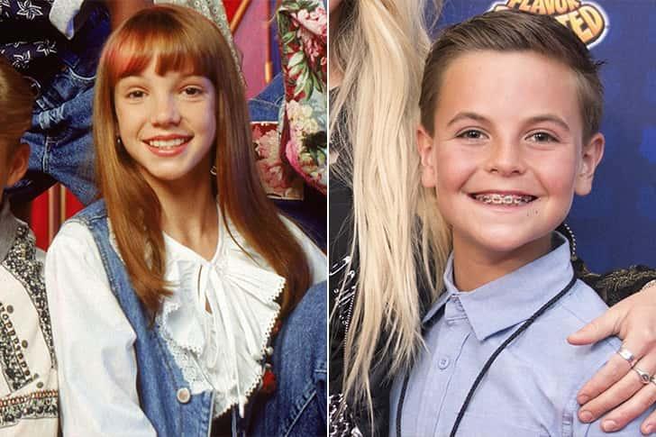Britney Spears - Sean Preston Federline (12 Years Old)