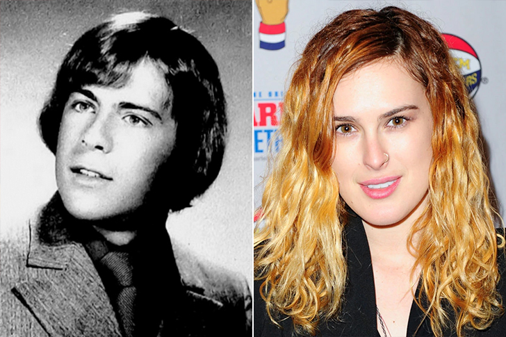 Bruce Willis - Rumer Willis (18 Years Old)