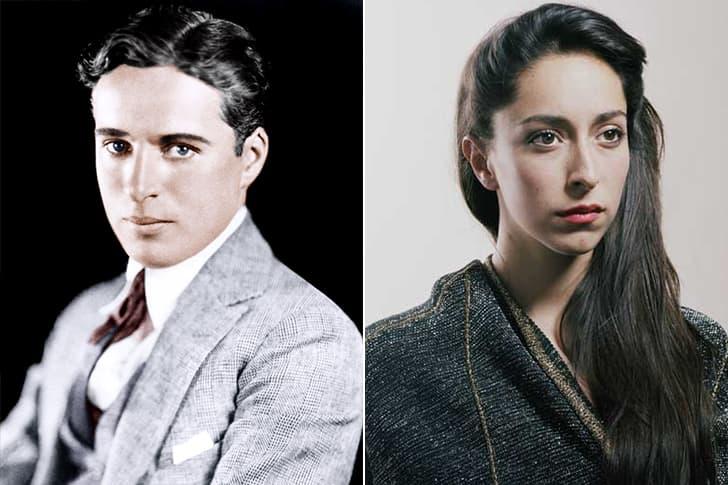 Charlie Chaplin - Oona Castilla Chaplin (30 Years Old)