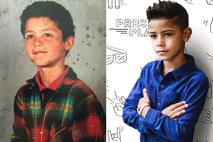 Cristiano Ronaldo - Cristiano Ronaldo Jr. (7 Years Old)