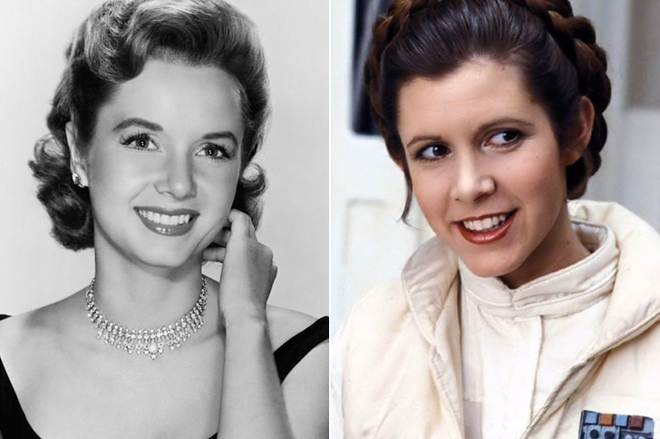 Debbie Reynolds - Carrie Fisher (23 Years Old)