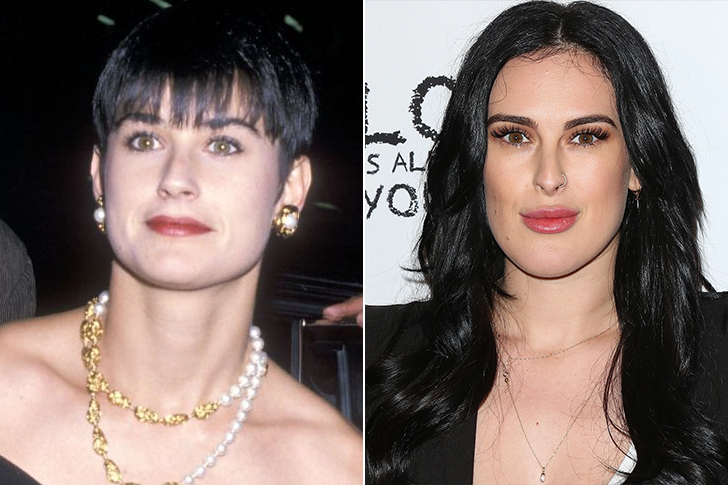Demi Moore - Rumer Willis (27 Years Old)