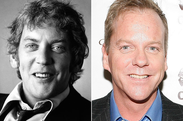 Donald Sutherland - Kiefer Sutherland (35 Years Old)