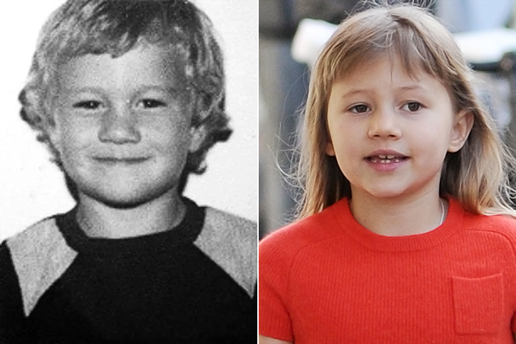 Heath Ledger - Matilda Ledger (9 Years Old)