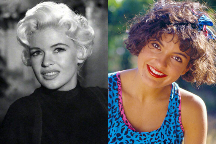 Jayne Mansfield - Mariska Hargitay (In Their Twenties)