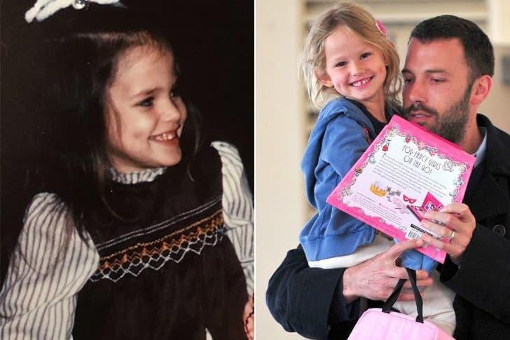 Jennifer Garner - Violet Affleck (4 Years Old)