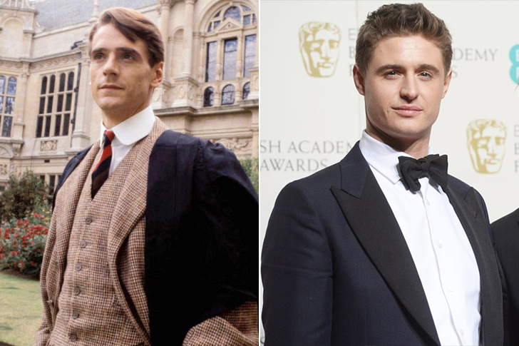 Jeremy Irons - Max Irons (32 Years Old)