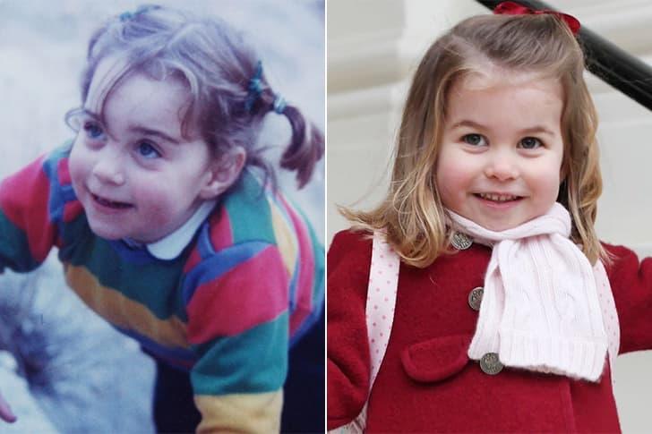Kate Middleton - Princess Charlotte (3 Years Old)