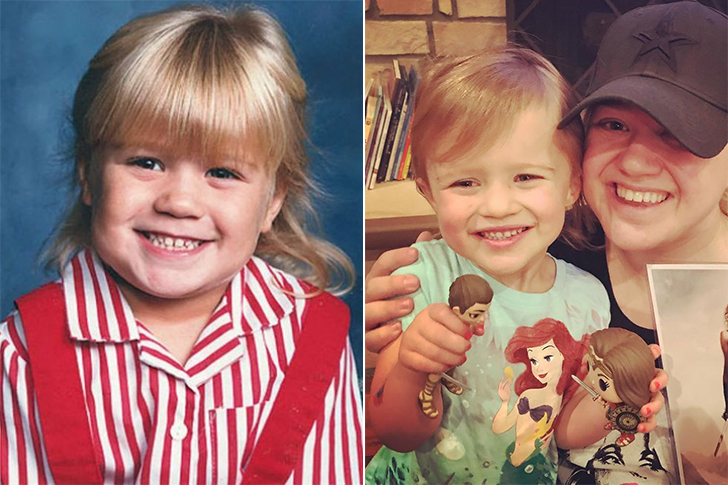 Kelly Clarkson - River Rose Blackstock (3 Years Old)