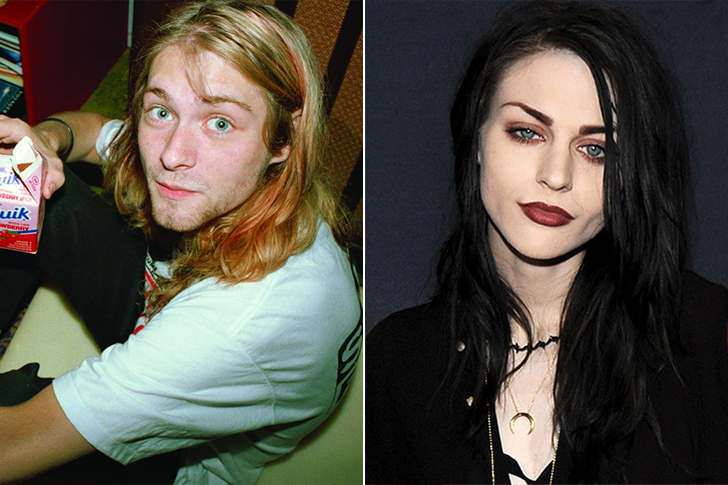 Kurt Cobain - Frances Bean Cobain(24 Years Old)