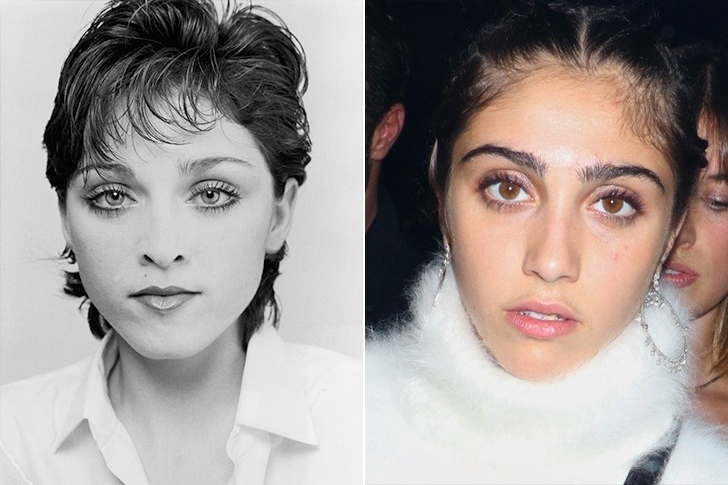 Madonna - Lourdes Leon (21 Years Old)
