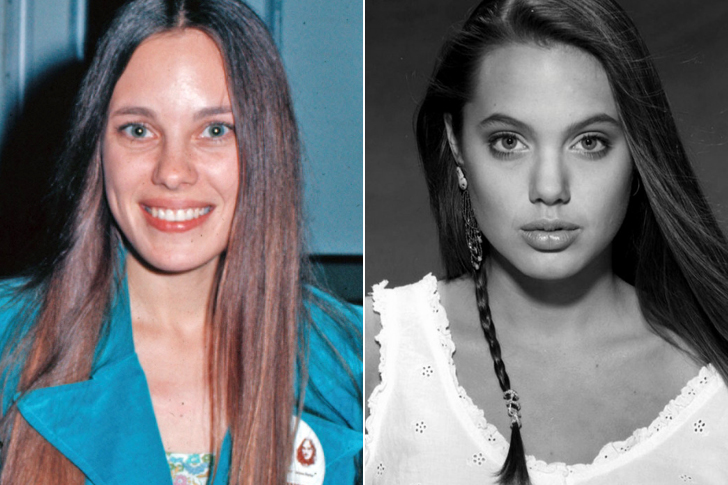 Marcheline Bertrand - Angelina Jolie (22 Years Old)