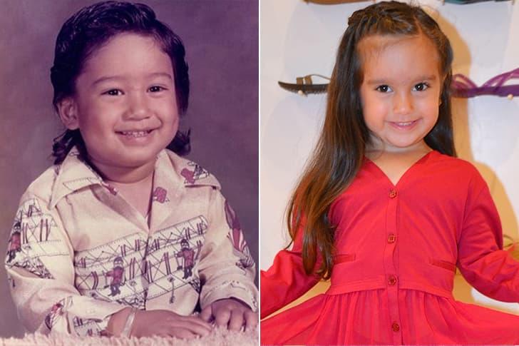 Mario Lopez - Gia Francesca Lopez (4 Years Old)