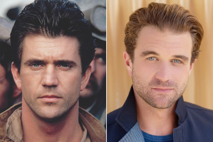 Mel Gibson - Milo Gibson (27 Years Old)