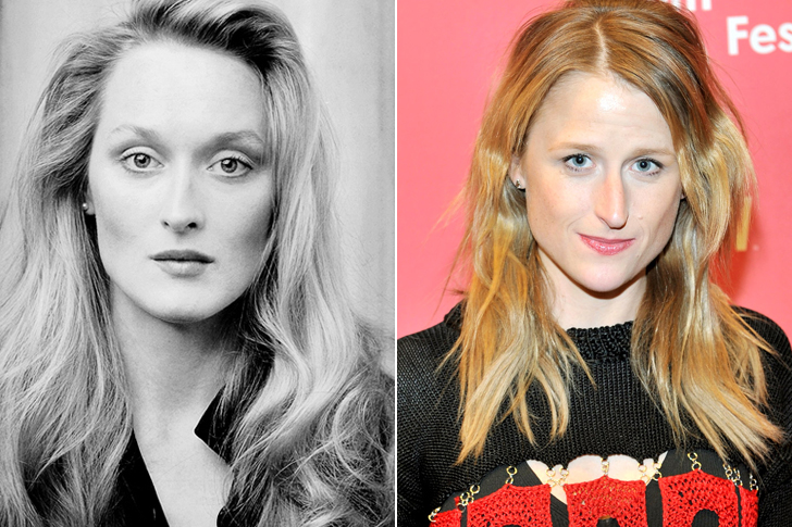 Meryl Streep - Mamie Gummer (31 Years Old)