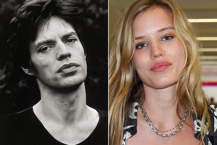 Mick Jagger - Georgia May Jagger (25 Years Old)