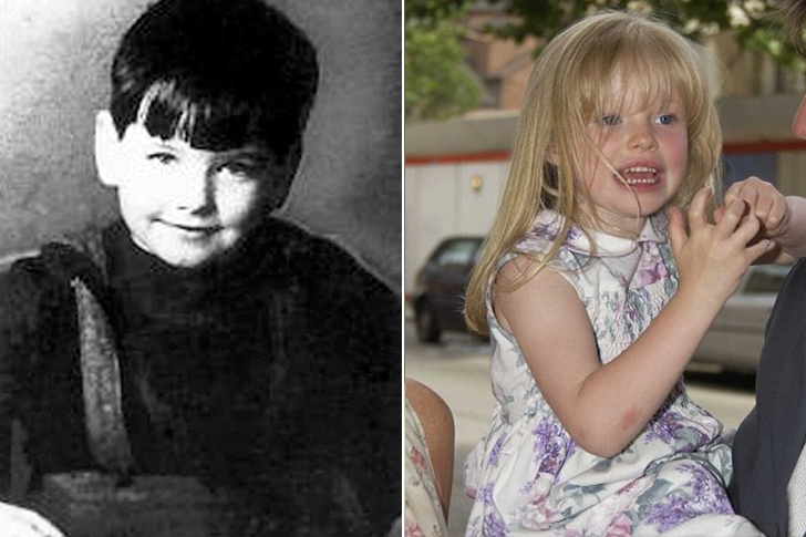 Pierce Brosnan - Isabella Sophie Smith (5 Years Old)