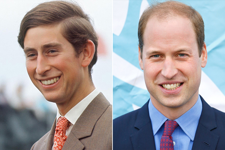Prince Charles - Prince William (33 Years Old)