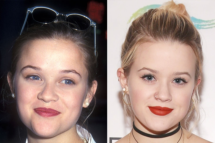 Reese Witherspoon - Ava Elizabeth Phillippe (18 Years Old)
