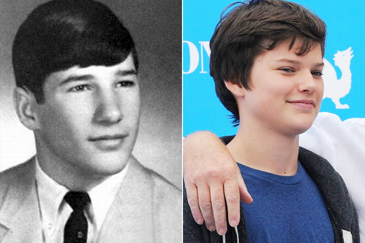 Richard Gere - Homer James Jigme Gere (18 Years Old)