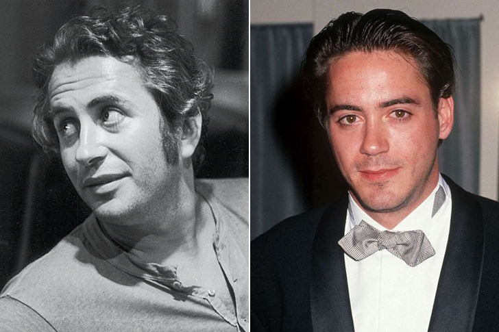 Robert Downey Sr. - Robert Downey Jr. (34 Years Old)