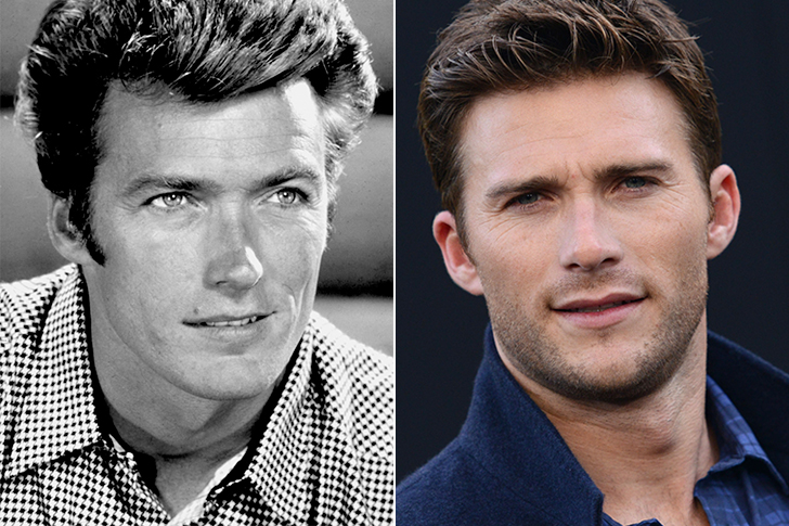 Scott Eastwood - Clint Eastwood (30 years old)