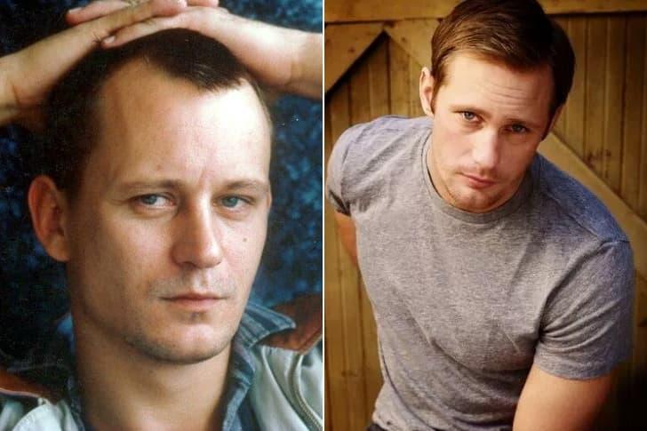 Stellan Skarsgård - Alexander Skarsgård (35 Years Old)