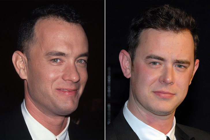 Tom Hanks - Colin Hanks (25 Years Old)