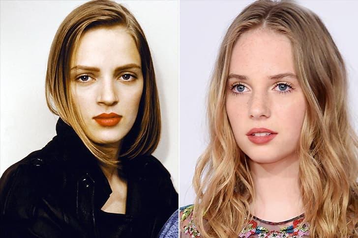 Uma Thurman - Maya Thurman-Hawke (19 Years Old)