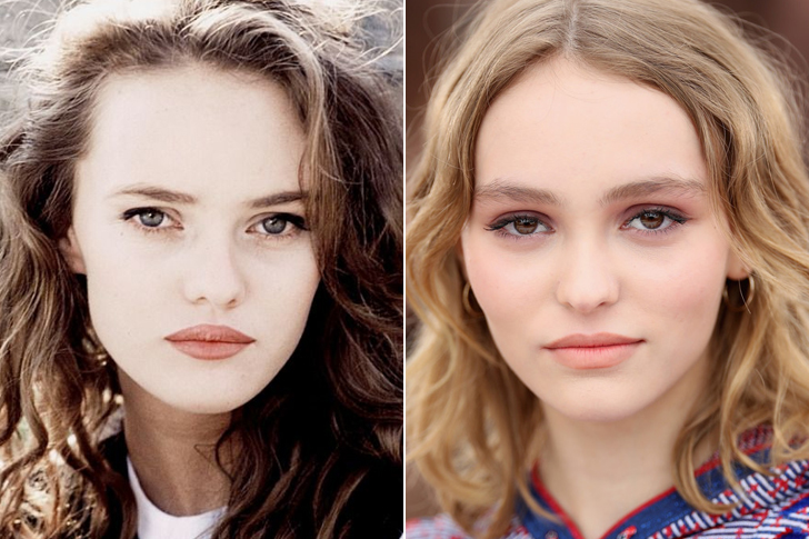 Vanessa Paradis - Lily-Rose Melody Depp (18 Years Old)
