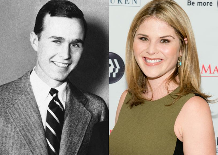 JENNA BUSH-HAGER - GEORGE H. W. BUSH'S GRANDDAUGHTER