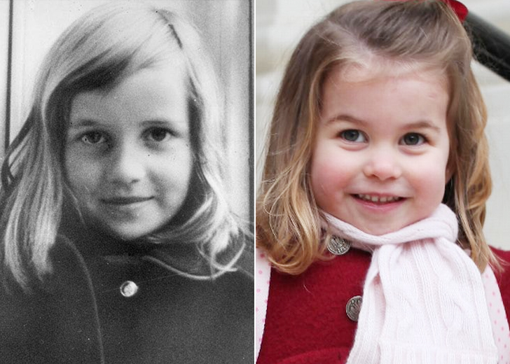 PRINCESS CHARLOTTE - PRINCESS DIANA'S GRANDDAUGHTER