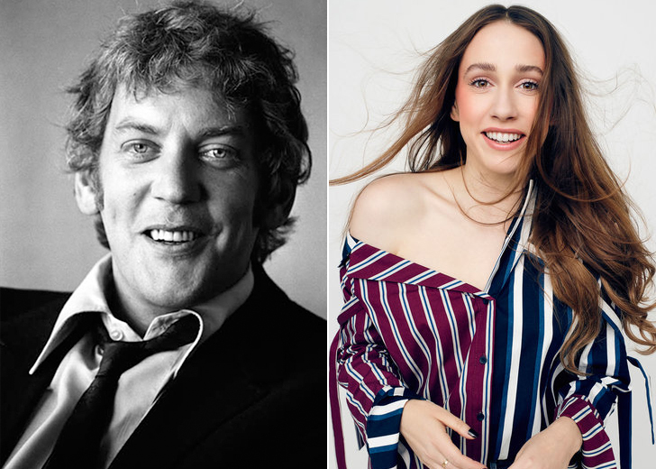 SARAH SUTHERLAND – DONALD SUTHERLAND'S GRANDDAUGHTER