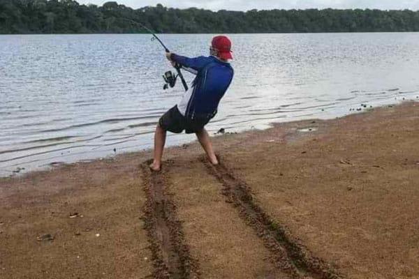 Fishing The Loch Ness Monster
