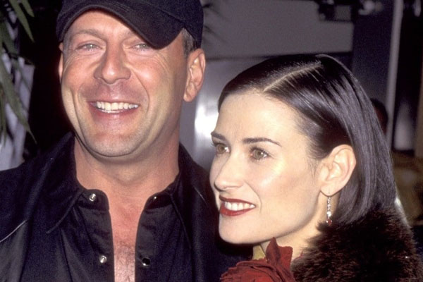 Demi Moore & Bruce Willis – $90 Million