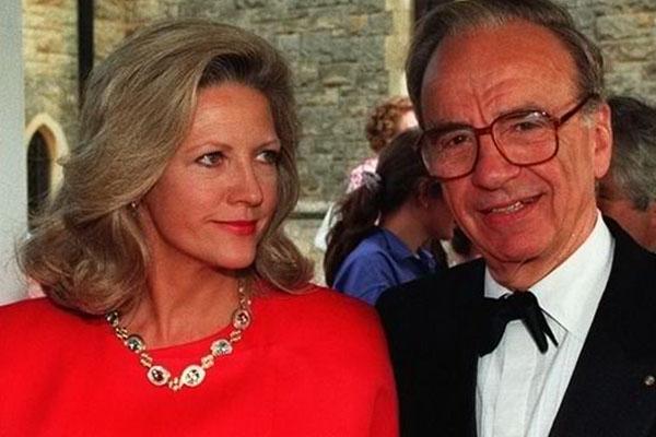 Rupert Murdoch e Anna Maria Torv - $ 1,2 bilhão