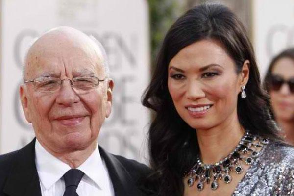 Rupert Murdoch e Wendi Deng - $ 1,8 milhões