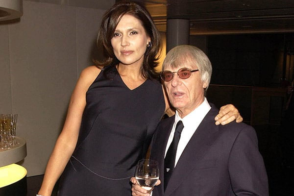 Bernie & Slavica Ecclestone - $ 1 bilhão
