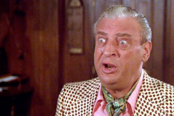 21. Rodney Dangerfield Was Under the Impression His Humor Sucked Since No One Laughed At His Jokes