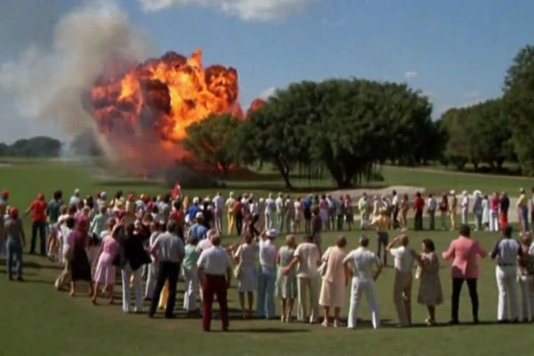 18. The Climatic Explosion Scene Was Made Using Explosives Placed Right On The Fairways