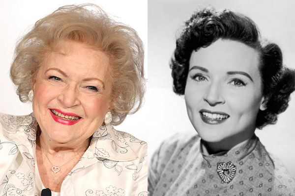 BETTY WHITE, 96 YEARS OLD
