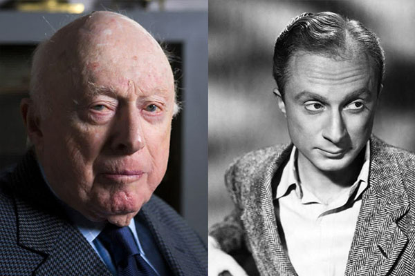 NORMAN LLOYD, 103 YEARS OLD