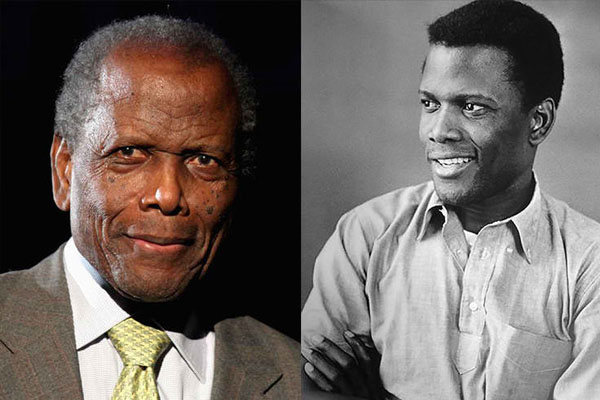 SIDNEY POITIER, 90 YEARS OLD