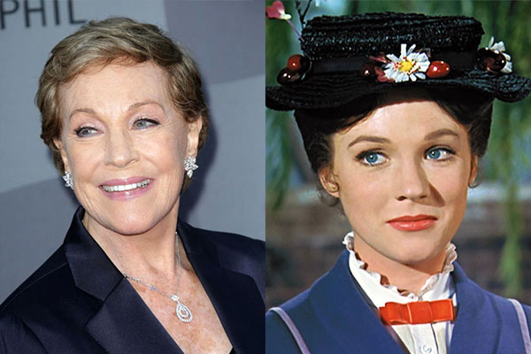 JULIE ANDREWS, 82 YEARS OLD