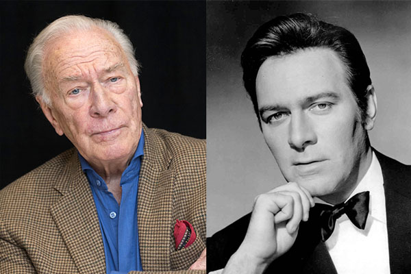 CHRISTOPHER PLUMMER, 88 YEARS OLD