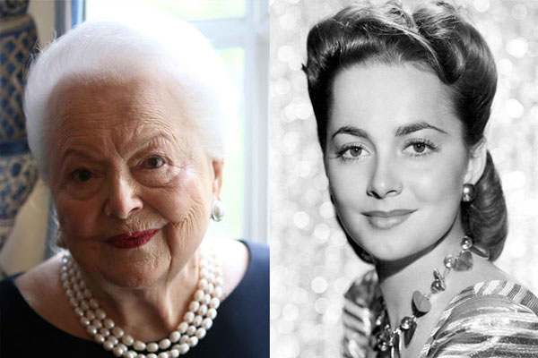 OLIVIA DE HAVILLAND, 102 YEARS OLD