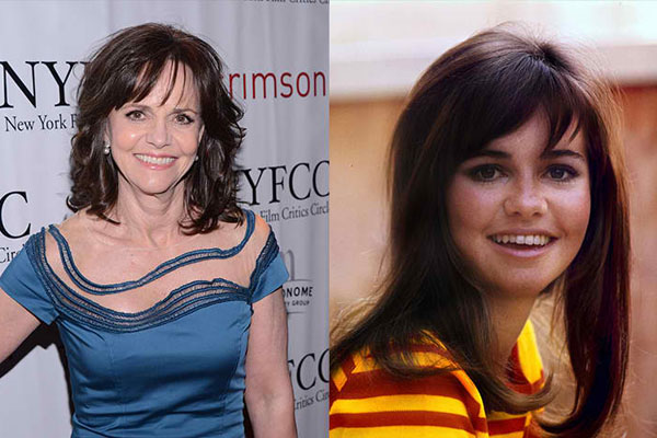 SALLY FIELD, 71 YEARS OLD