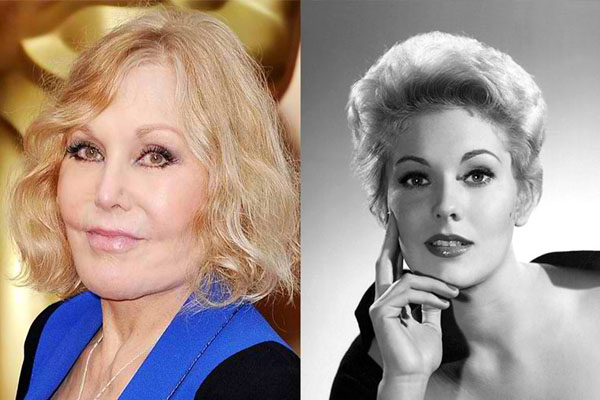 KIM NOVAK, 84 YEARS OLD